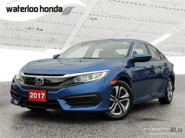 2017 Honda Civic LX (Stk: H4688A) in Waterloo - Image 1 of 28