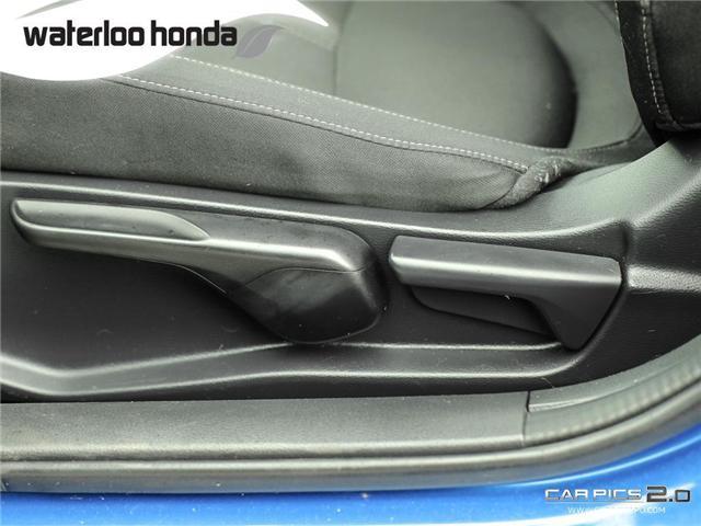 2017 Honda Civic LX (Stk: H4688A) in Waterloo - Image 20 of 28