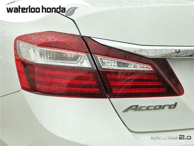 2016 Honda Accord EX-L (Stk: U4728) in Waterloo - Image 27 of 28