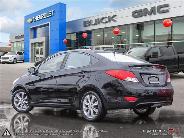 2012 Hyundai Accent GLS (Stk: 28422) in Georgetown - Image 4 of 27