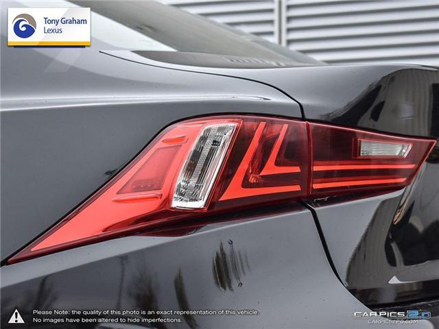 2016 Lexus IS 300 Base (Stk: Y3236) in Ottawa - Image 12 of 29