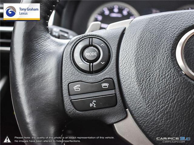 2016 Lexus IS 300 Base (Stk: Y3236) in Ottawa - Image 17 of 29