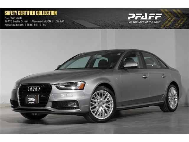 2016 Audi A4 2.0T Komfort plus (Stk: 53026) in Newmarket - Image 1 of 16