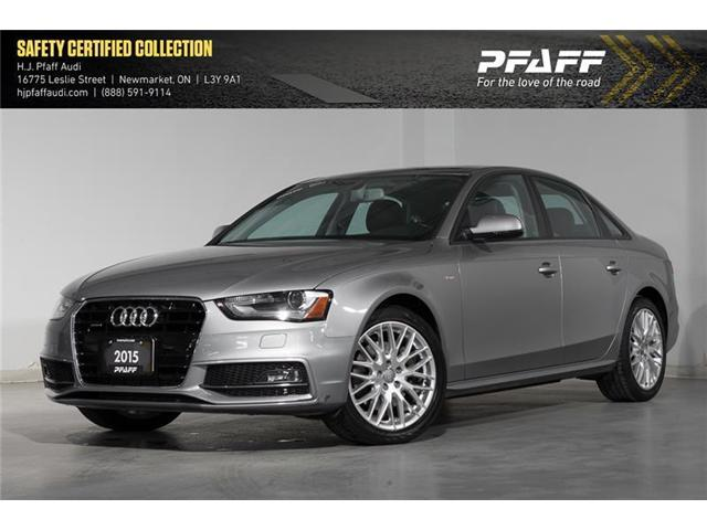 2015 Audi A4 2.0T Komfort (Stk: 53034) in Newmarket - Image 1 of 16