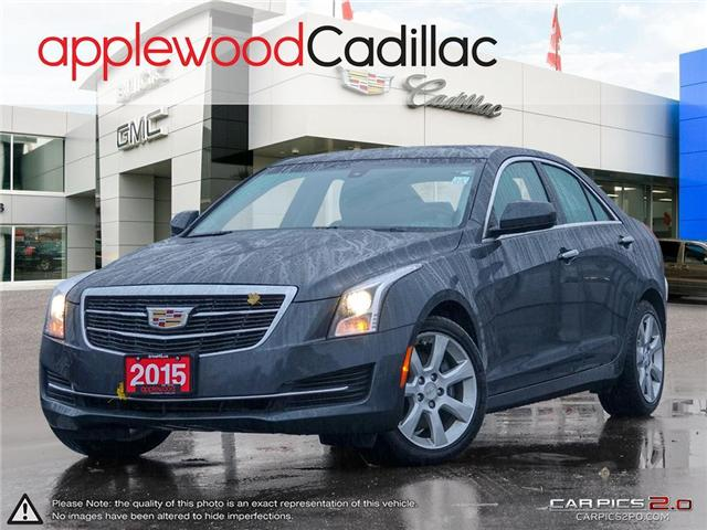2015 Cadillac ATS 2.0L Turbo (Stk: 5791P) in Mississauga - Image 1 of 27