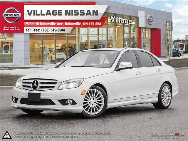 2009 Mercedes-Benz C-Class Base (Stk: 80795A) in Unionville - Image 1 of 27