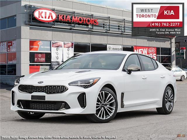 2019 Kia Stinger GT-Line (Stk: 19158) in Toronto - Image 1 of 21