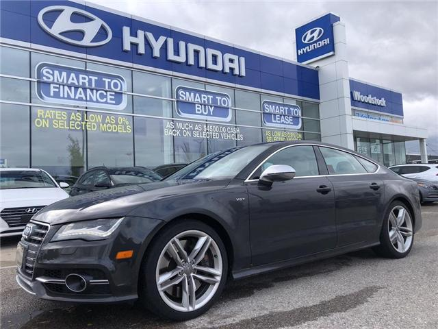 2013 Audi S7 4.0T (Stk: HD18042) in Woodstock - Image 1 of 30