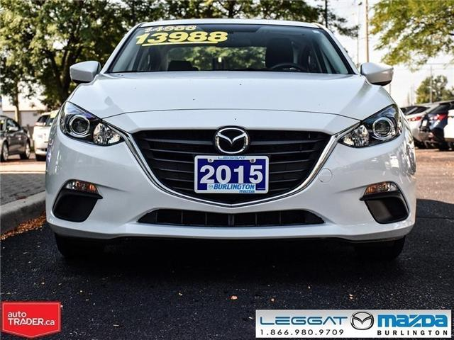2015 Mazda Mazda3 MANUAL W/ BLUE TOOTH (Stk: 1651) in Burlington - Image 2 of 17
