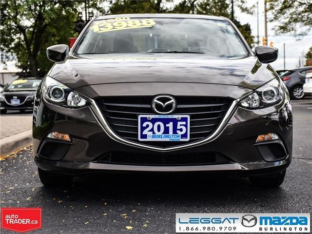 2015 Mazda Mazda3 GX AUTOMATIC, A/C, BLUETOOTH (Stk: 1673) in Burlington - Image 2 of 16