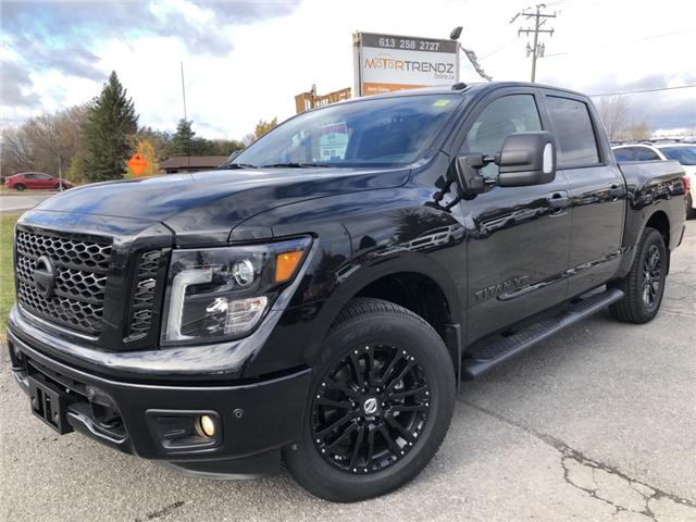 2018 Nissan Titan SV Midnight Edition (Stk: -) in Kemptville - Image 1 of 29