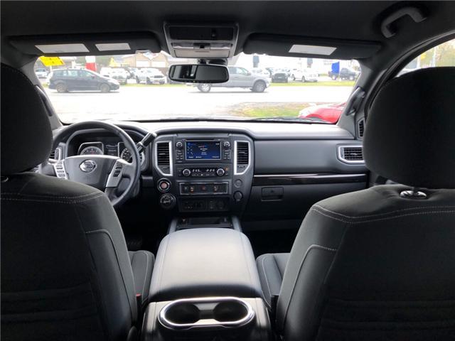 2018 Nissan Titan SV Midnight Edition (Stk: -) in Kemptville - Image 12 of 29