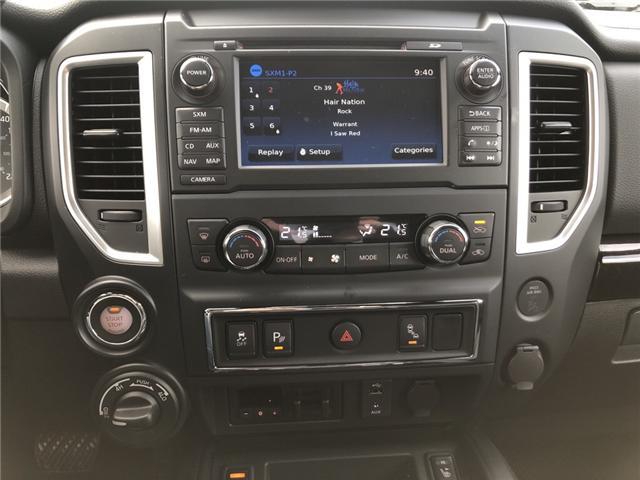 2018 Nissan Titan SV Midnight Edition (Stk: -) in Kemptville - Image 16 of 29