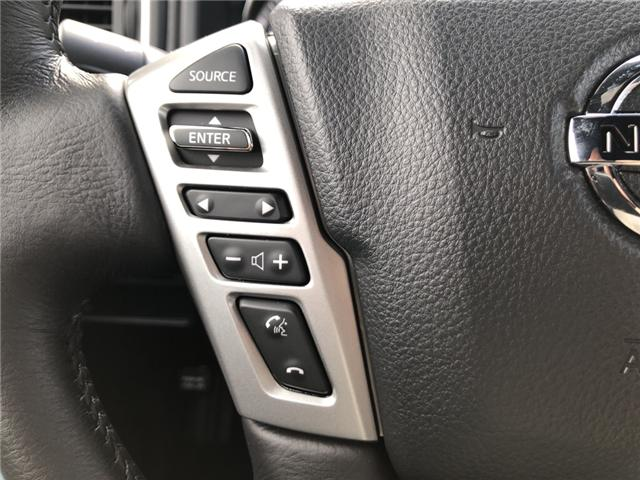 2018 Nissan Titan SV Midnight Edition (Stk: -) in Kemptville - Image 18 of 29