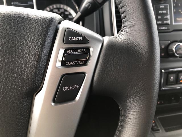 2018 Nissan Titan SV Midnight Edition (Stk: -) in Kemptville - Image 19 of 29