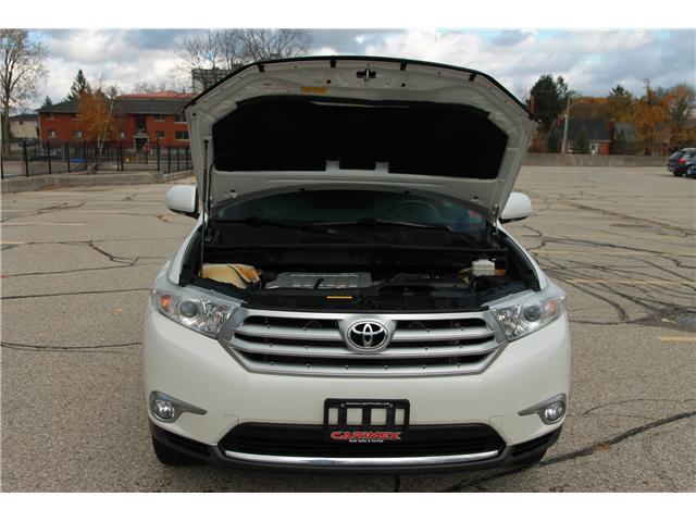 2012 Toyota Highlander V6 Limited (Stk: 1810510) in Waterloo - Image 28 of 30