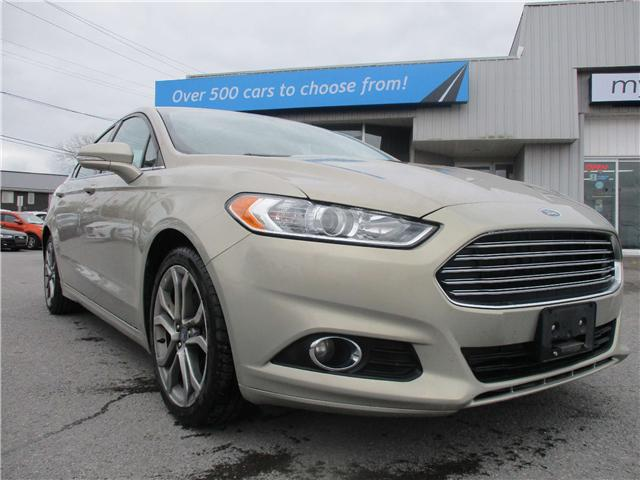 2016 Ford Fusion SE (Stk: 161154) in North Bay - Image 1 of 12