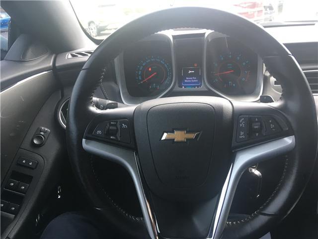 2015 Chevrolet Camaro LT (Stk: 263485) in Pembroke - Image 14 of 21