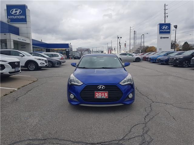 2015 Hyundai Veloster Turbo (Stk: 27973A) in Scarborough - Image 2 of 12