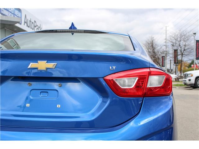2017 Chevrolet Cruze LT Auto (Stk: 17-194541 -Q) in Mississauga - Image 4 of 20