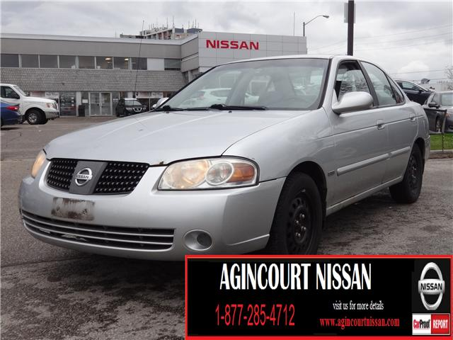 2005 Nissan Sentra 1.8 (Stk: JY305421A) in Scarborough - Image 1 of 12
