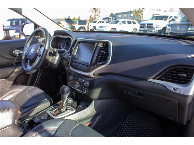 2015 Jeep Cherokee Trailhawk (Stk: EE898760A) in Surrey - Image 14 of 25