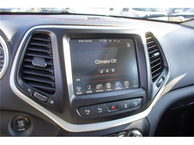 2015 Jeep Cherokee Trailhawk (Stk: EE898760A) in Surrey - Image 20 of 25
