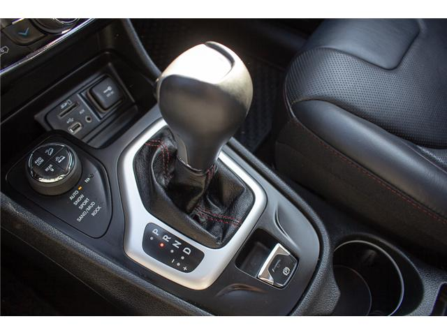 2015 Jeep Cherokee Trailhawk (Stk: EE898760A) in Surrey - Image 23 of 25