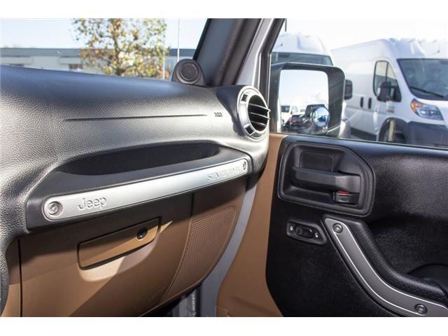 2012 Jeep Wrangler Rubicon (Stk: EE899120) in Surrey - Image 17 of 19