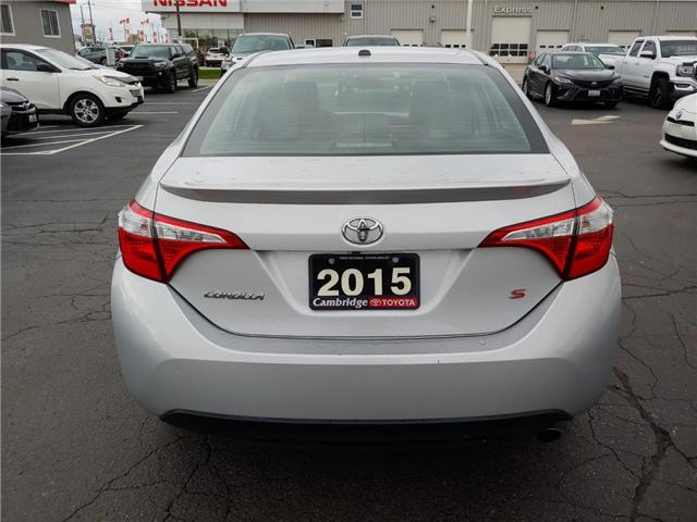 2015 Toyota Corolla  (Stk: 1811531) in Cambridge - Image 7 of 15