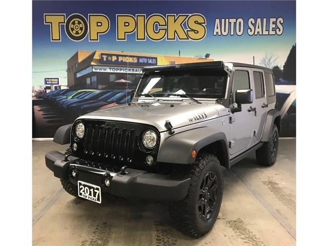 2017 Jeep Wrangler Unlimited Sport (Stk: 640807) in NORTH BAY - Image 1 of 24