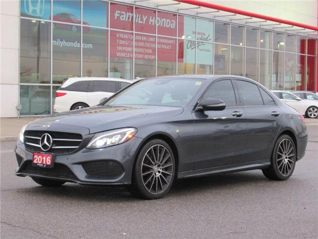 2016 Mercedes-Benz C-Class LUXURIOUS AND STUNNING! (Stk: 9501666A) in Brampton - Image 1 of 27