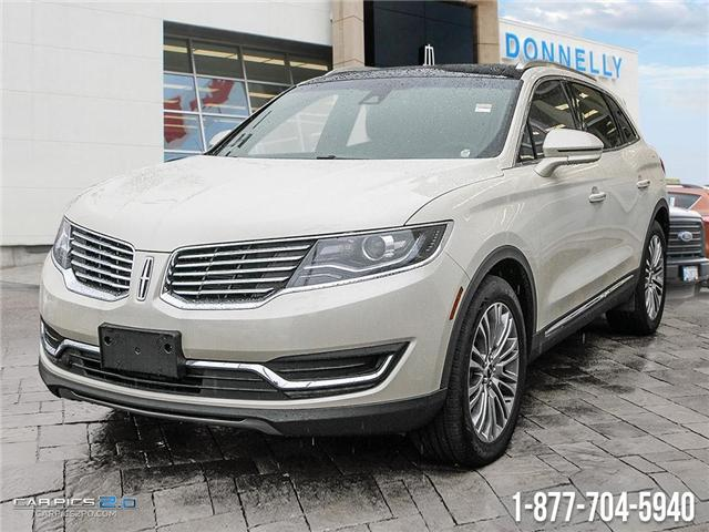 2018 Lincoln MKX Reserve (Stk: DR1762) in Ottawa - Image 1 of 28