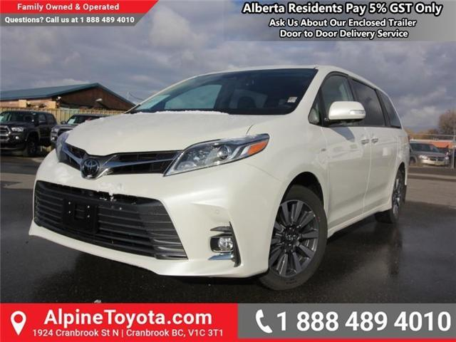 2018 Toyota Sienna XLE 7-Passenger (Stk: S201516) in Cranbrook - Image 1 of 20