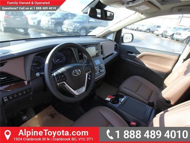 2018 Toyota Sienna XLE 7-Passenger (Stk: S201516) in Cranbrook - Image 9 of 20