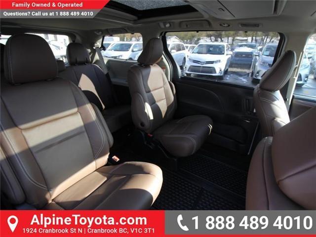 2018 Toyota Sienna XLE 7-Passenger (Stk: S201516) in Cranbrook - Image 12 of 20