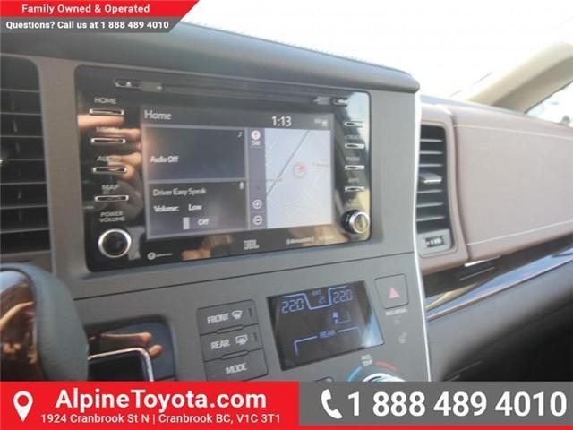 2018 Toyota Sienna XLE 7-Passenger (Stk: S201516) in Cranbrook - Image 13 of 20