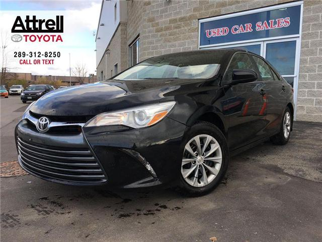2016 Toyota Camry BLACK FRIDAY SPECIAL LE POWER GROUP, CRUISE, BACK  (Stk: 42630A) in Brampton - Image 1 of 22