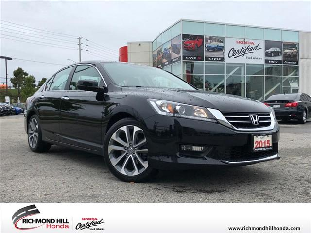 2015 Honda Accord Sport (Stk: 181393P) in Richmond Hill - Image 1 of 19