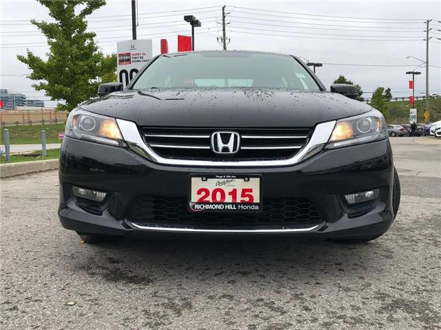 2015 Honda Accord Sport (Stk: 181393P) in Richmond Hill - Image 2 of 19
