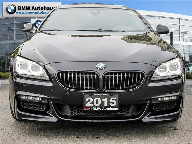 2015 BMW 650i xDrive (Stk: P8587A) in Thornhill - Image 2 of 23