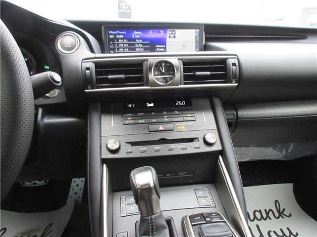 2019 Lexus IS 300 Base (Stk: 198007) in Regina - Image 19 of 37