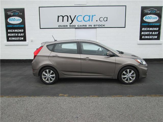 2013 Hyundai Accent GLS (Stk: 181652) in Kingston - Image 1 of 14