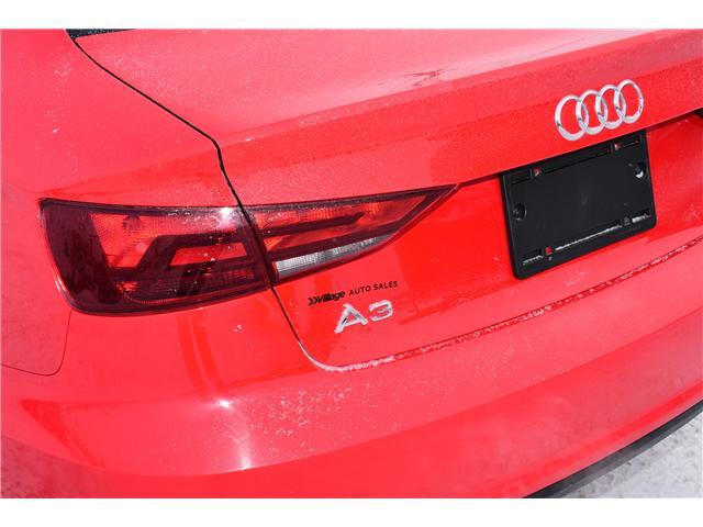 2016 Audi A3 2.0T Komfort (Stk: T35771) in Saskatoon - Image 30 of 30