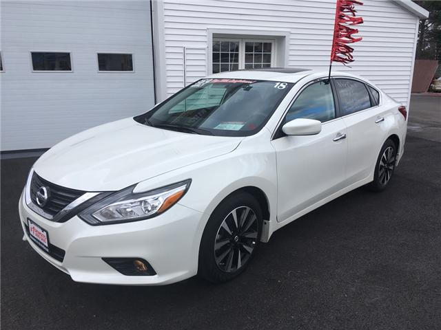 2018 Nissan Altima 2.5 SV (Stk: 144) in Oromocto - Image 1 of 21
