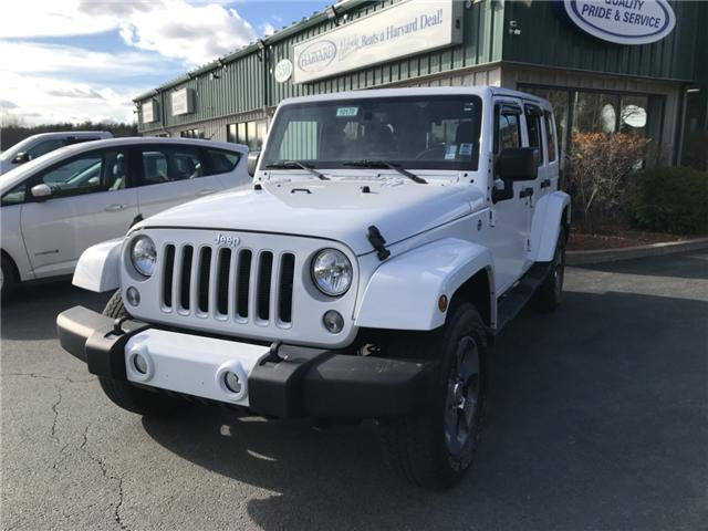 2016 Jeep Wrangler Unlimited Sahara (Stk: 10170) in Lower Sackville - Image 1 of 19