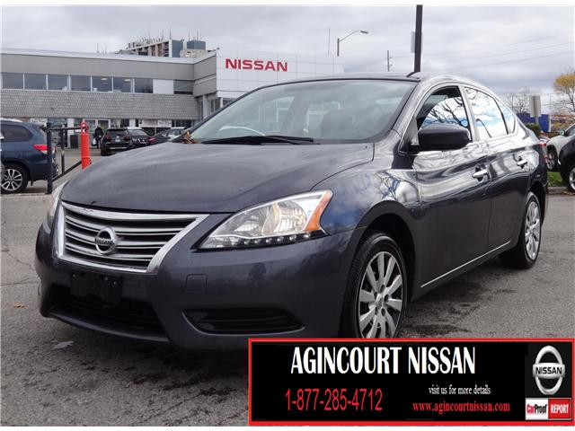 2014 Nissan Sentra 1.8 S (Stk: U12308) in Scarborough - Image 1 of 16