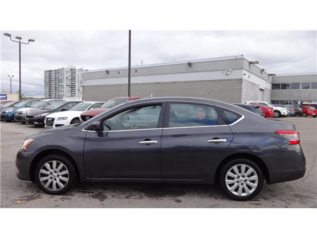 2014 Nissan Sentra 1.8 S (Stk: U12308) in Scarborough - Image 2 of 16