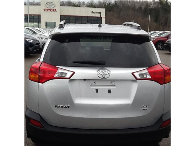 2015 Toyota RAV4 LE (Stk: 18562P) in Owen Sound - Image 3 of 3