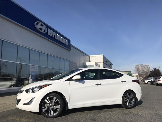 2016 Hyundai Elantra Limited (Stk: H18-0154P) in Chilliwack - Image 1 of 14